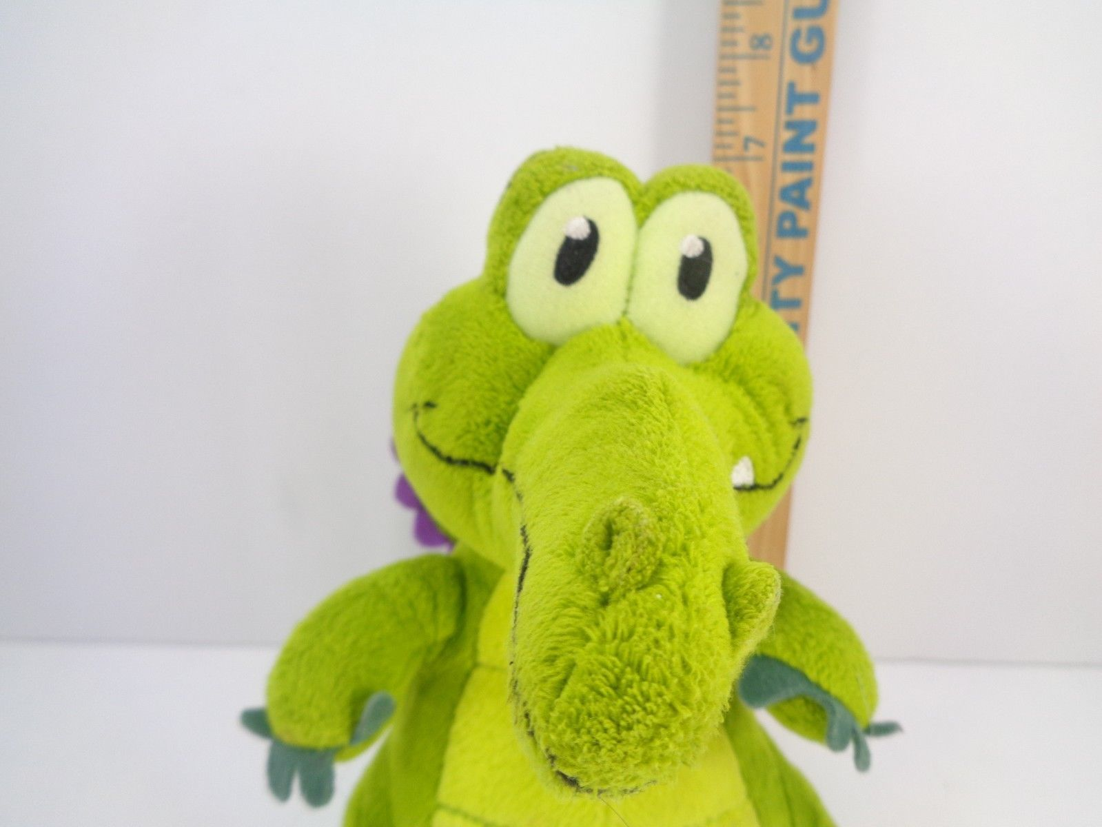 Disney Parks Wheres My Water Swampy Game Alligator Crocodile Plush Doll 7""