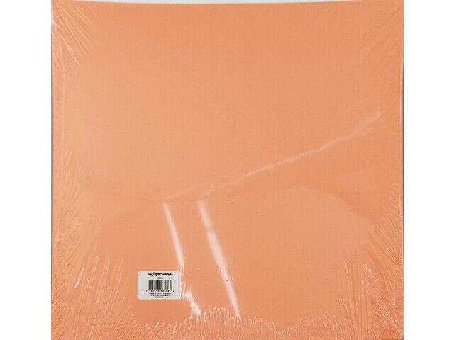 """The Paper Company Nectarine Cardstock 12x12"""", 25 Sheets"""