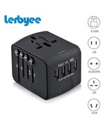 Lerbyee® Travel Adapter International Universal Power Adapter All-in-one - $28.74