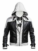 New Batman Arkham Knight Game Red Hood Leather Jacket & Vest Costume - $103.94+
