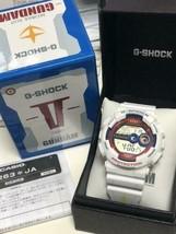 Casio G-SHOCK RX-78-2 GD-100 Gundam Mens Wrist Watch White - $745.46