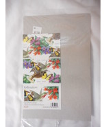 Pollination Booklet Pane of 20  - Mint NH VF Original pk - $9.57