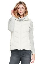 Lands End Women's Down Vest Ivory New - $39.99