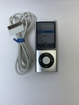 Apple iPod Nano A1320 16GB 5th Generation Silver Camera Music Player - $56.99