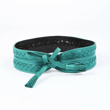 Bottega Veneta Intrecciato Leather Belt - $205.00