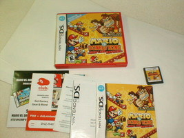 Nintendo ds mario vs donkey kong mini-land mayhem complete tested 2010 - $18.00