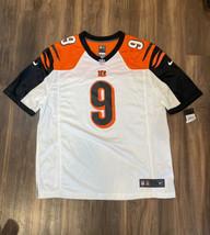 Joe Burrow #9 Cincinnati Bengals Nike 2020 NFL Mens Game White Jersey Si... - $89.04