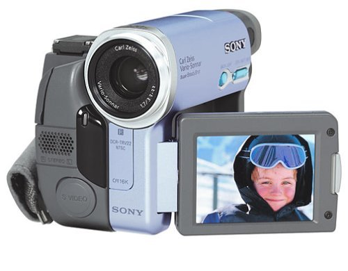 "Sony DCRTRV22 MiniDV Camcorder with 2.5"" LCD, Color Viewfinder & Memory Stick Ca"