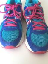 ASICS Womens GLS T28BQ Blue Pink Running Walking Sneakers Shoes sz US 11 Eu 43.5 - $19.79