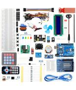 Super Learning Starter Kit Arduino UNO R3 Electronics Student Set Roboti... - $80.19