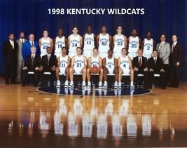 1998 Kentucky Wildcats Team 8X10 Photo Picture Ncaa Basketball Champs - $3.95