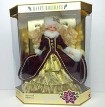 *BEAUTIFUL* Mattel 1996 Special Edition Happy Holidays Barbie *IN ORIGIN... - $593.01
