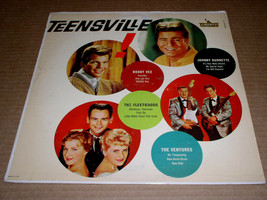 Teensville Record Album Vinyl Vintage Liberty Label Johnny Burnette The ... - $32.99