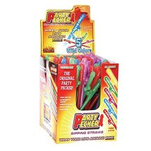 Party Pecker Sipping Straws 5 Assorted Colors 144 Pcs Display - €56,71 EUR