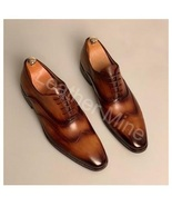 New Handmade Men's Handmade Men's Two Patina Oxfords Dress Shoes - $159.99+