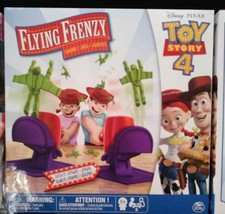 Disney Pixar~Toy Story 4~Flying Frenzy Game~How many figures can you cat... - $42.13