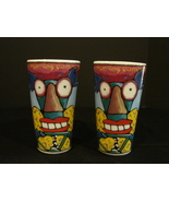 Two Chaleur The Morning Commute Tall 12 oz Mugs w/Lid Designed By Ringer - $30.00