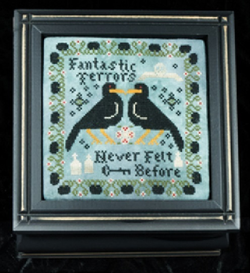 Fantastic Terrors cross stitch chart Threads of Memory