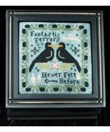 Fantastic Terrors cross stitch chart Threads of Memory - $7.20