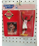 1995 CLARENCE WEATHERSPOON STARTING LINEUP ACTION FIGURE SLU 76ERS HOOPS - $12.00