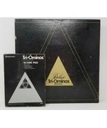 Deluxe Tri-Ominos Triangular Domino Game Pressman #4423 1978 with Score ... - $25.73