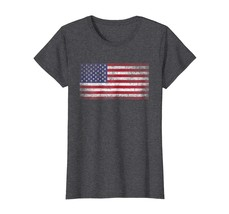 Funny Shirts - 2018 4th of July T Shirt Official Vintage American Flag USA Wowen - $19.95+
