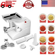 """Heavy Duty Electric Meat Grinder Commercial with 3 Blade 13"""" x 6.6"""" x 10... - $108.68"""
