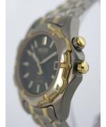 Seiko women watch dark gree dial kinetic calender case sapphlex crystal ... - $353.89