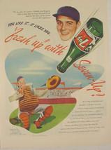 1946 7up Seven-up BASEBALL UMPIRE Print Ad - $9.99