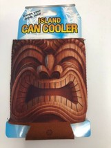Island Heritage Hawaii Can Cooler Happy Tiki Koozie  - $14.01
