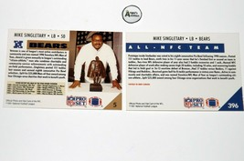 Mike Singletary #50 RB Chicago Bears Football Trading Cards AA-191699 Vintage C image 2