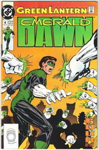 Green Lantern Emerald Dawn Comic Book #4 DC Comics 1990 NEAR MINT NEW UN... - $3.99