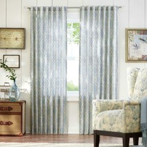 """NEW 2 Pack Light Filtering Window Panels in Spring Blue 54"""" x 84"""" - $28.50"""