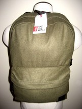 Vans Shoes Deana III Unisex Backpack Bookbag Ivy Green Black Ships Free NWT - $37.56