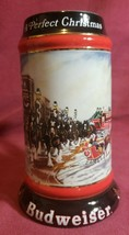 1992 Budweiser Clydesdales & Anheuser Busch - Holiday Steins Collectible - $11.13