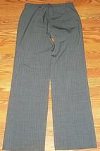 Gap Gray Pinstripe Wide Leg Dress Pants Size 4R - $13.50