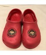 Bobby Jack Juventud Zapatos Niño Zuecos con Tira Trasera Rosa Tamaño 2 - $12.44