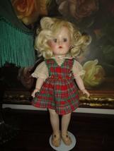 "Antique 1949-56 Ideal TONI Doll P-90 Original Clothing 14"" Made USA - $338.45"