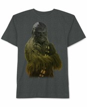 Star Wars Mens Chewbacca Ombre Graphic T-Shirt Size M - $18.80