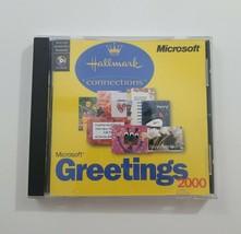 Microsoft Greetings 2000 Hallmark Connections CD ROM - $8.10