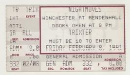 RARE Trixter 2/8/91 Memphis TN Night Moves Ticket Stub! - $5.93