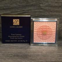Estee Lauder Pure Fantasy Illuminating Face Powder Full Size New In Box Rare - $43.94