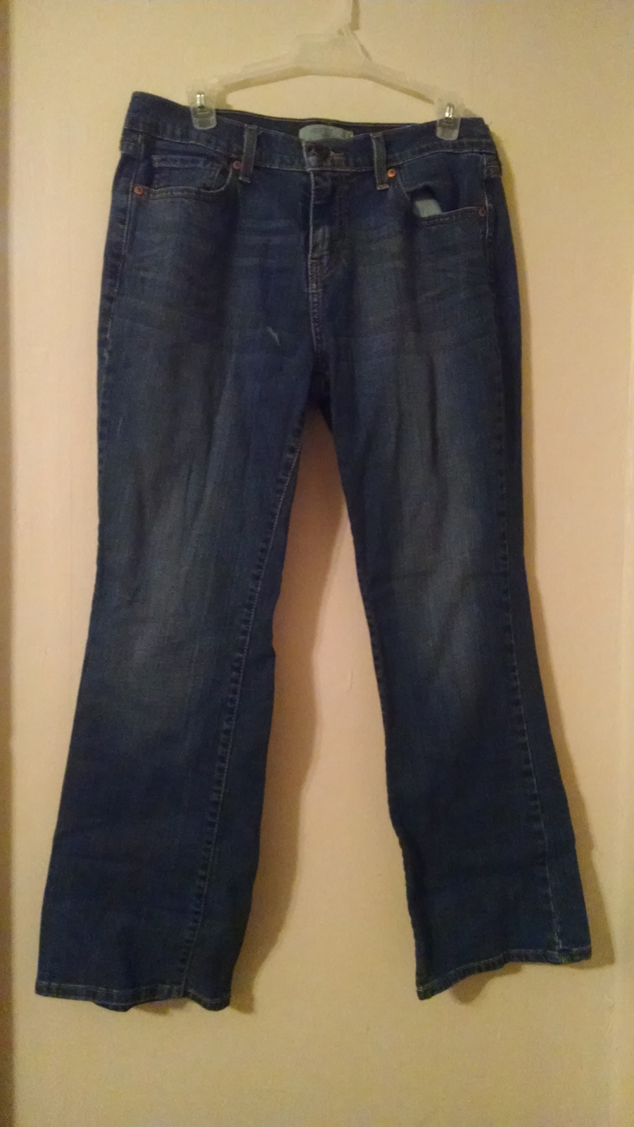 Women's blue jean Lee bootcut size 10s ras548