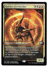 Magic The Gathering Foil Radkos Firewheeler Promo Open House Ravnica All... - $4.95
