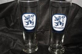 """2 Lowenbrau Special & Special Dark Beer 9"""" Tall... - $17.59"""
