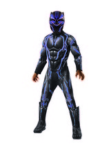 Rubie's Boys Black Panther Super Deluxe Light up Battle Costume, As Show... - $110.95