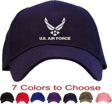 U.S. Air Force Embroidered Baseball Cap - Available in 7 Colors - Hat usaf - $23.95
