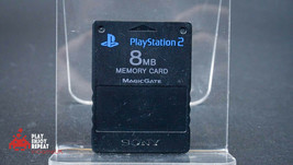 OFFICIAL SONY PLAYSTATION 2 MEMORY CARD 8MB FAST AND FREE UK POSTAGE - $8.61 CAD