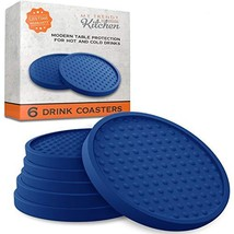 Large Drink Coasters - Absorbs Moisture and Prevents Table Damage, Moder... - $19.73