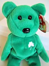 TY Beanie Babies ERIN GREEN TEDDY BEAR PLUSH TOY  1997 - $4.99